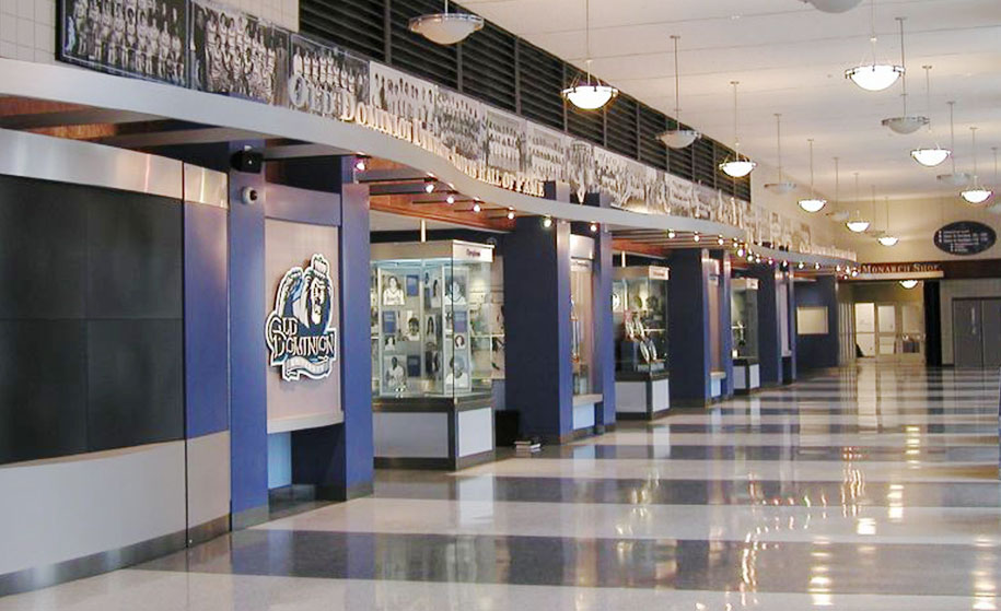 Old Dominion University Sports Halls of Fame